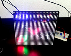 RGB LED Matrix web controller - Thumbnail